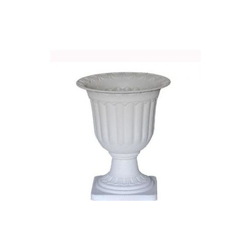 Medium Concrete Look Urn - 34cmD x 42cmH