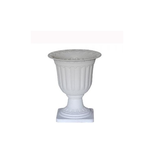 Small Concrete Look Urn - 29.5cmD x 36cmH