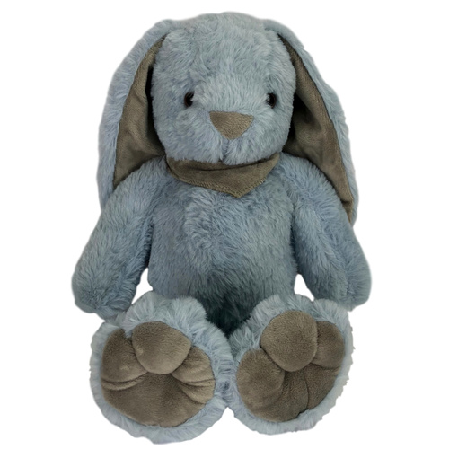 PLUSH RABBIT - 32cmH / BLUE