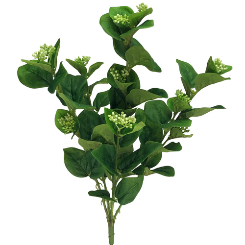 Greenery Bush with Berries - 41cmL