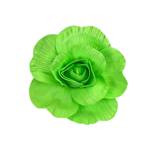 EVA FOAM FLOWER - 25cmD / LT GREEN
