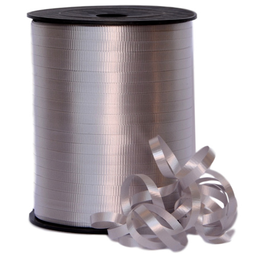 Crimped Curling Ribbon - 5mm x 457.2mtr / Silver