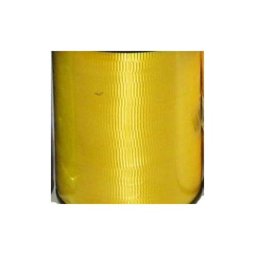CRIMPED CURLING RIBBON -  5mm x 457.2mtr - YELLOW