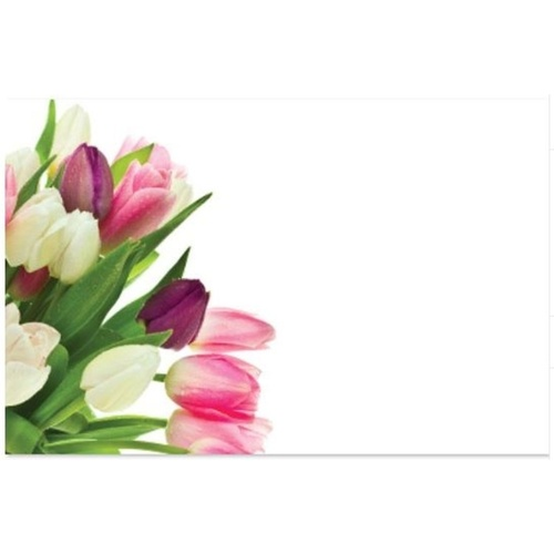 TULIP BUNCH CARD x 50