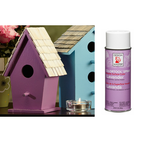 DESIGN MASTER SPRAY-12 OZ - LAVENDER