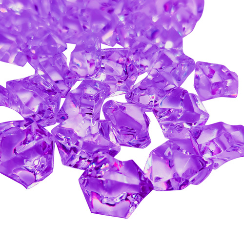 CRYSTAL STONE / BAG - PURPLE