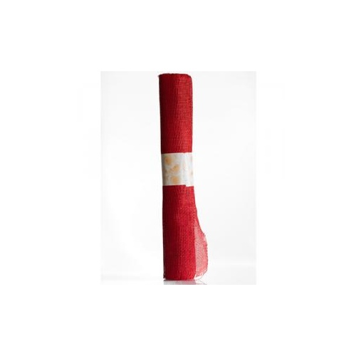 NATURAL PAPER WRAP - 52cm x 4.57mtr - RED